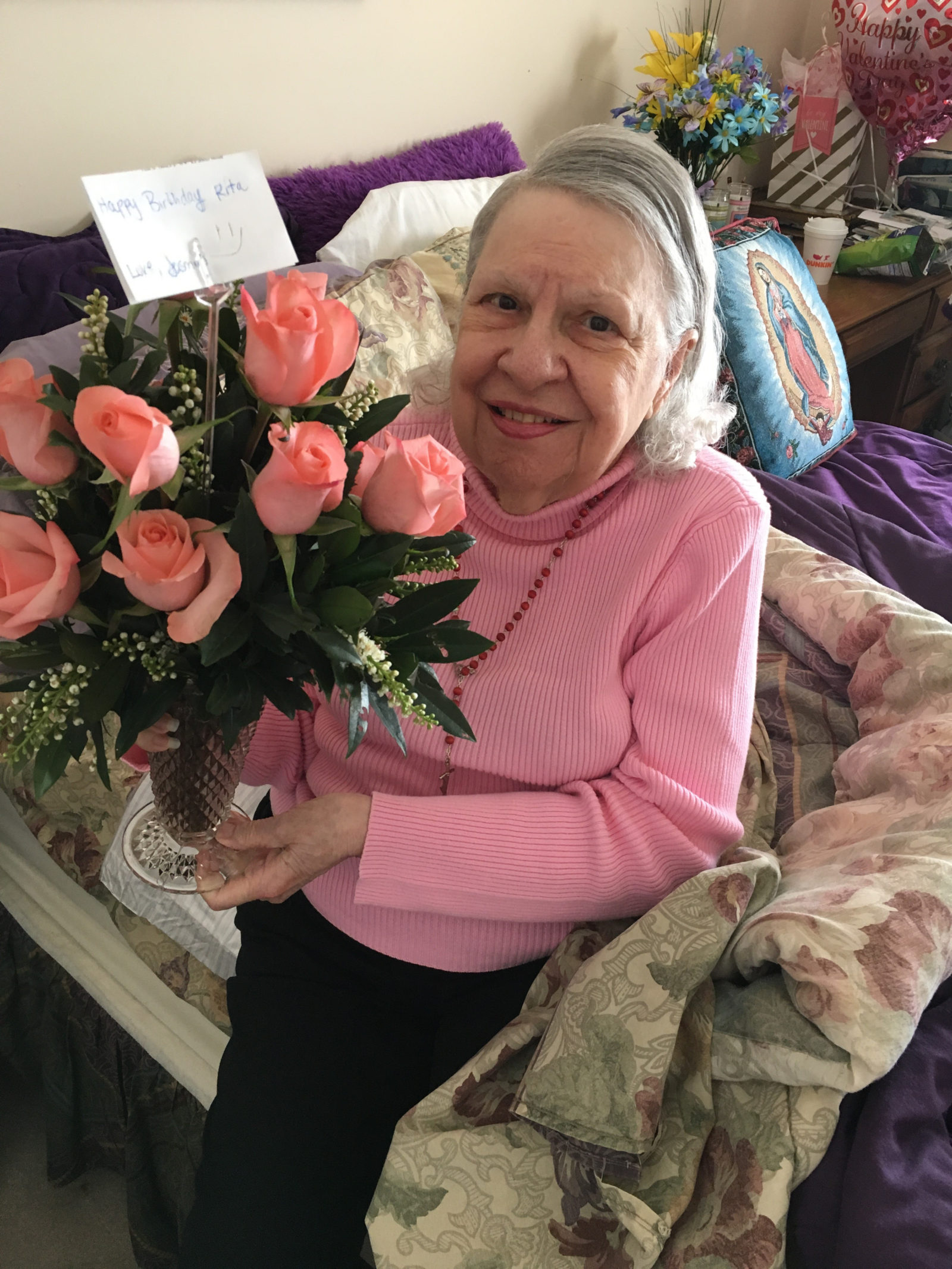 Caregiver Alpharetta GA - Happy Birthday Miss Rita