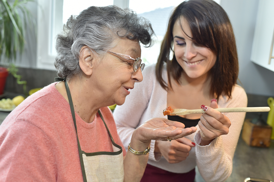 Senior Care Sandy Springs GA - COPD and Food